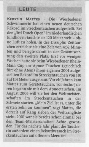 Frankfurter Rundschau 2004