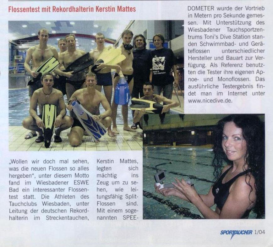 Sporttaucher 2004