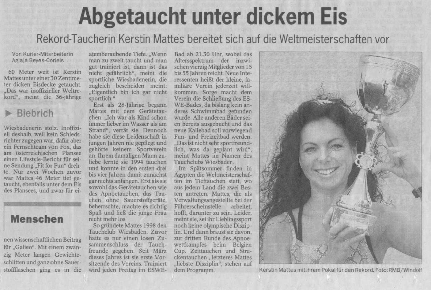 Wiesbadener Kurier 2002