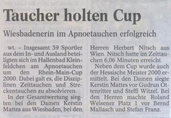 Wiesbadener Tagblatt 2000