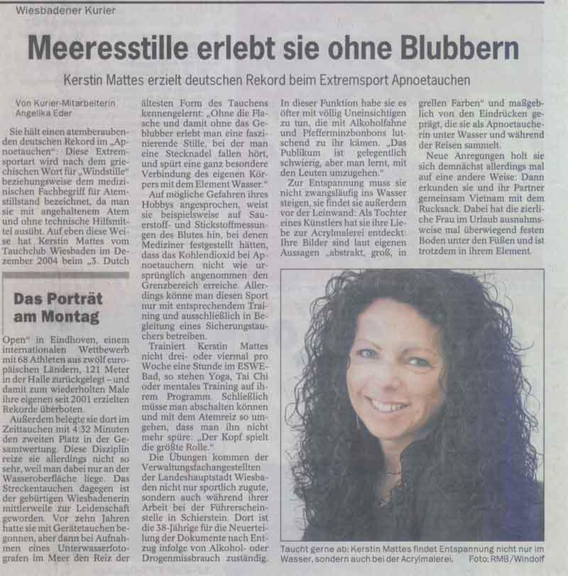 Wiesbadener Kurier 2005