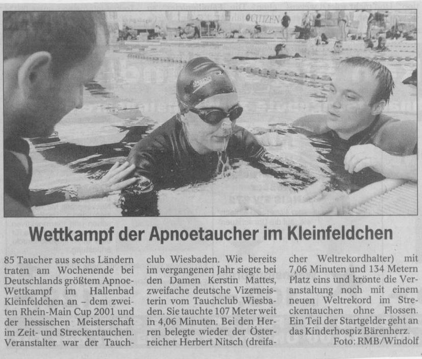 Wiesbadener Kurier 2001