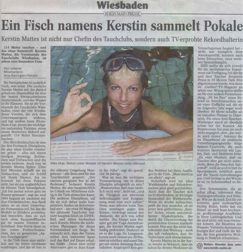 Wiesbadener Tagblatt 2004