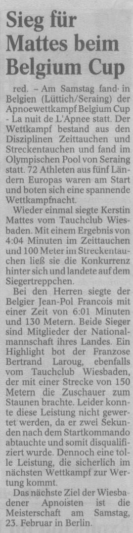 Wiesbadener Tagblatt 2002