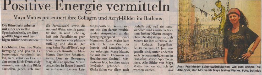 Höchster Kreisblatt 2012