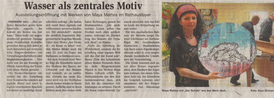 Hochheimer Zeitung 2012