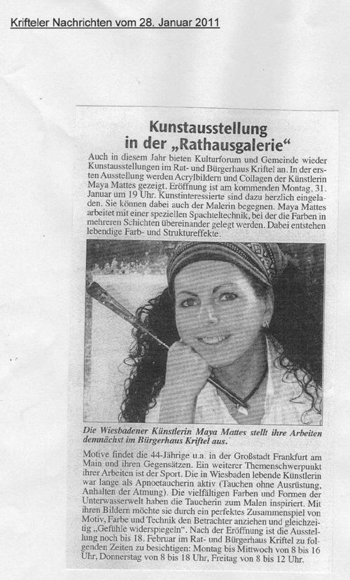 Krifteler Nachrichten 2011