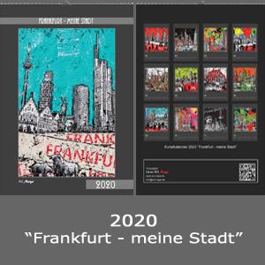 REDUZIERT - Kunstkalender 2020