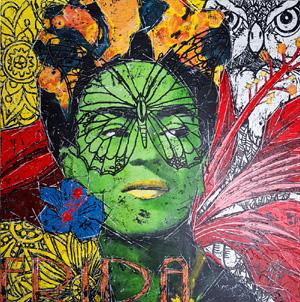 Lisa & Frida jetzt auch als Kunstdruck
