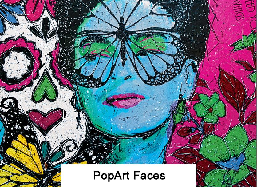 PopArt Faces