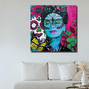 NEU: Frida - Fly with me II als Original und als Kunstdruck